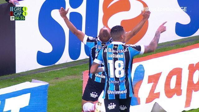 Os gols de Grêmio 2 x 1 Athletico-PR pela 16º rodada do Brasileirão 2019