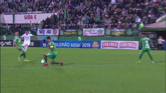 Melhores momentos: Chapecoense 0 x 1 Santos pela 17ª rodada do Brasileirão