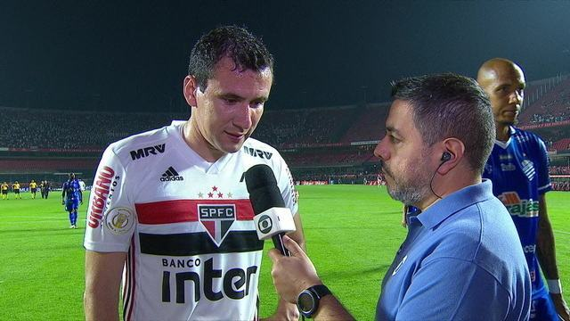 Pablo diz que São Paulo precisa focar para que vitórias voltem