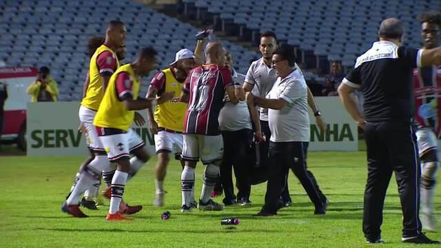 O gol de River-PI 1 x 0 Bahia pela Copa do Brasil