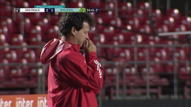 Os gols de São Paulo 2 x 3 Mirassol pelas quartas de final do Paulistão