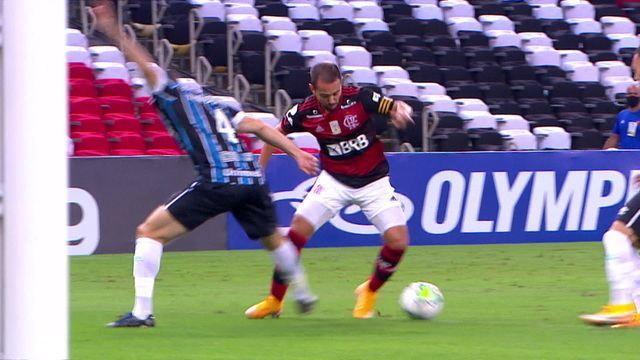 Melhores momentos: Flamengo 1 x 1 Grêmio pela 4ª rodada do Brasileirão 2020