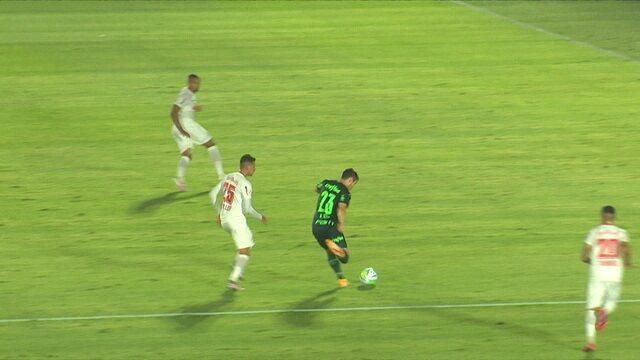 Melhores momentos: Bragantino 1 x 3 Palmeiras pelo jogo de ida das oitavas de final da Copa do Brasil
