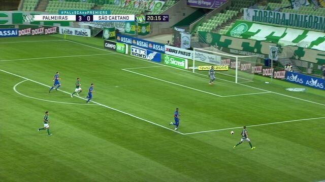 Melhores momentos: Palmeiras 3 x 0 São Caetano, pela 1ª rodada do Paulistão
