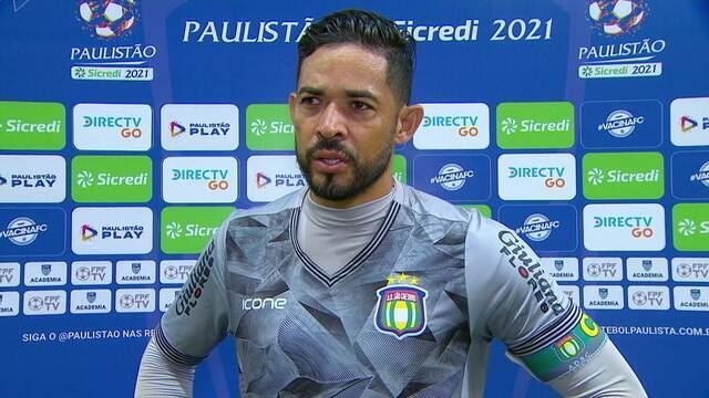 Luiz analisa a derrota para o Palmeiras e a paralisação do Paulista