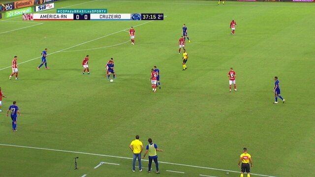Melhores momentos: América-RN 0 x 1 Cruzeiro, pela segunda fase da Copa do Brasil