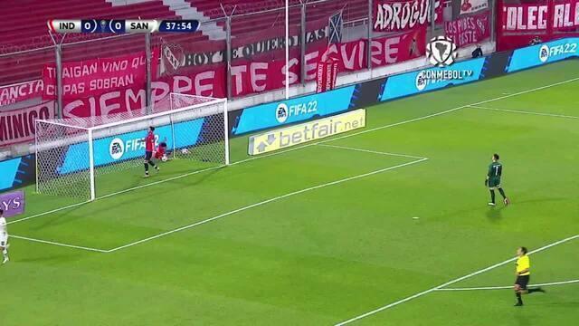 Melhores momentos: Independiente 1 x 1 Santos, pela Copa Sul-Americana