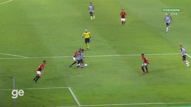 Atlético-MG x Sport - Melhores Momentos do 1º Tempo