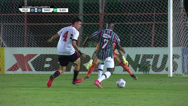 Melhores momentos: Fluminense 0 (1) X (3) 0 São Paulo pelas quartas de final da Copa do Brasil Sub-17