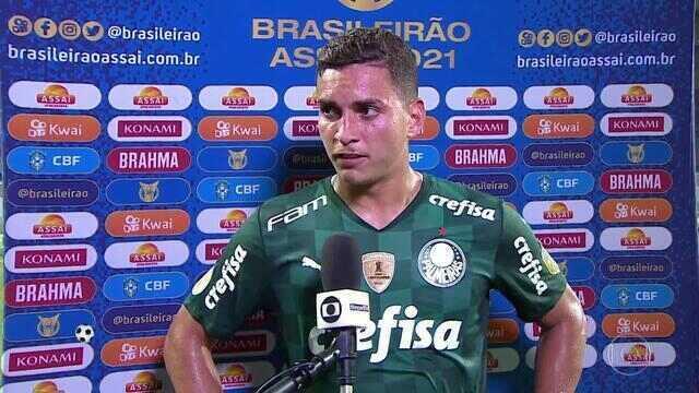 """Renan sobre a derrota do Palmeiras: """"As coisas não são da maneira que a gente quer"""""""