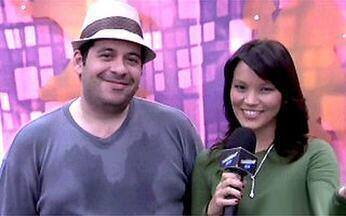 Geovanna Tominaga entrevista finalistas do Dança dos Famosos - Invadiremos os ensaios de Paola Oliveira, Jonatas Faro e Leandro Hassum.