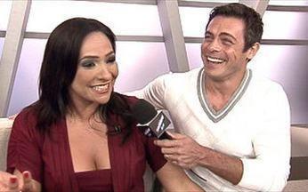 Vídeo Show comemora aniversário do Estúdio I - Programa da Globo News completa um ano de vida.