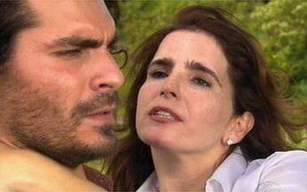 Quanto tempo as protagonistas resistem ao beijo de Thiago Lacerda? - Vídeo Show calcula a quantidade de capítulos. Confira!