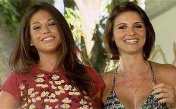 A relação de Priscila Sol e Carolina Chalita nos bastidores de Viver - A rixa de Paixão e Suzana só acontece na telinha.