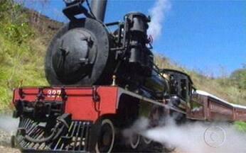 Vou de trem! Vídeo Show relembra cenas em locomotivas - Arquivos resgatam viagens de trem de personagens de novelas.