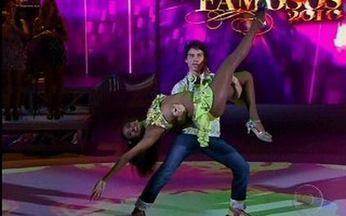 Arteche dança o forró - André mostrou todo seu talento na Dança e forrozeou ao lado de Aline Alves.