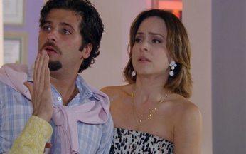 Passione - Capítulo de sexta feira, 01/10/2010, na íntegra - Fred seduz Myrna para descobrir se Saulo tem uma conta no exterior. Berilo é hipnotizado. Clara é principal suspeita na morte de Eugênio.