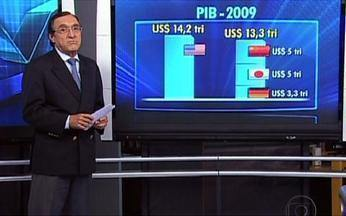 Desequilíbrio econômico está centrado nas quatro maiores economias do mundo - Carlos Alberto Sardenberg afirmou que não pode permanecer o grande déficit dos EUA, enquanto China, Alemanha e Japão estão com superávit. Para resolver isso, os países precisam mudar de modelos.