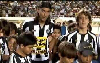 Botafogo perde para o River Plate na Copa do Brasil e vive momentos complicados - Joel Santana se irrita com atuação da equipe que precisa da vitória em casa para seguir na competição.