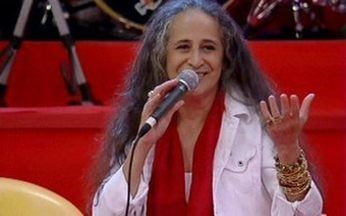 Bethânia canta 'Flor e Espinho' - No palco do Esquenta, a cantora emociona os convidados com a música de Nelson Cavaquinho