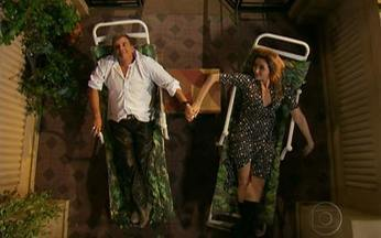 Macho Man – Episódio do dia 08/04/2011, na íntegra - Nelson sofre um acidente na boate e começa a se interessar por mulheres. Agora, ele precisa da ajuda de Valéria para se adaptar a sua nova realidade.