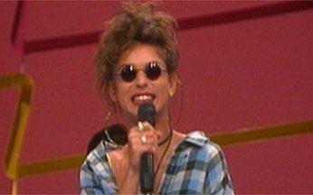 Baú da Globo relembra o programa Radical Chic - Personagem criada por Miguel Paiva era interpretada por Andréa Beltrão, em 1993