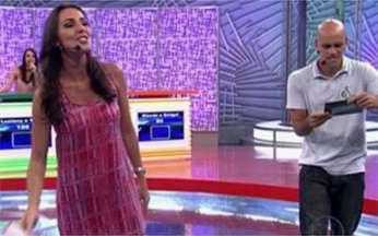 Vídeo Game: confira a penúltima rodada da disputa - Angélica recebe a turma de apresentadores do esporte da Globo
