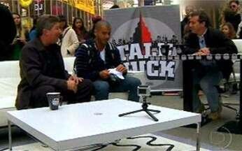 Você Viu? Reveja o programa Caldeirão do Huck em Nova Iorque - Luciano Huck criou um talk show com a participação de anônimos e celebridades