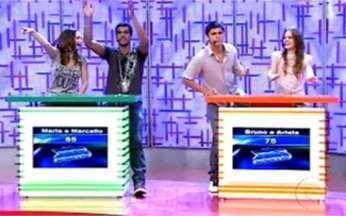 Confira a terceira rodada do Vídeo Game - Angélica recebe o elenco de Malhação