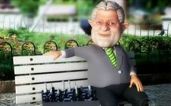 Lula mostra que a voz dele é a mesma, mas os cabelos dele... - O ex-presidente Lula afirmou que está mais sábio e, por isso, os cabelos dele estão mais brancos. Ele está convencido de que o companheiro Palocci precisa de ajuda e que vai ficar de olho em quem não colaborar. Pode?