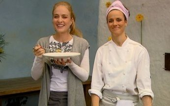 Helena Rizzo cozinha para Angélica - A chef prepara nhoque de mandioquinha para o Estrelas