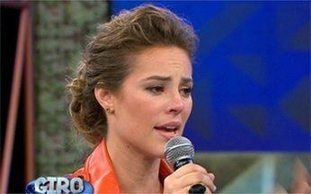 Giro Vídeo Show: Paola Oliveira fala sobre felicidade no Domingão do Faustão - Confira o que os famosos andam dizendo na nossa telinha
