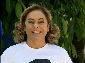 Cissa Guimarães se emociona ao falar da homenagem de grupo a seu filho - No Rock in Rio, Red Hot Chili Peppers vestiu blusa com o rosto de Rafael, morto há um ano
