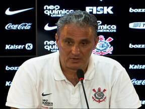 Tite evita poupar os atletas e pede intensidade no Corinthians - Técnico elogiou Gilsinho, mais novo reforço do Timão, e ainda deixa Adriano fora do banco.