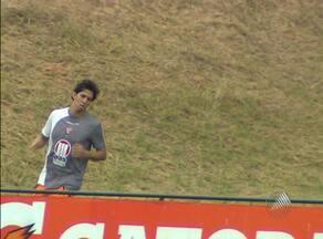 Zagueiro Victor Ramos já treina no Vitória - Ele participou do trabalho físico no Barradão, e será apresentado pelo clube na tarde da próxima quinta.