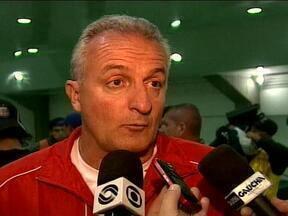 Dorival quer colocar o time titular em campo no Gre-Nal - Técnico do Inter não garante, no entanto, que não utilizará time reserva ou misto no clássico.