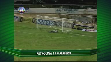 Petrolina vence o Araripina por 1 a 0 - Fera Sertaneja bateu o Bode e entrou no G-4 do Pernambucano 2012