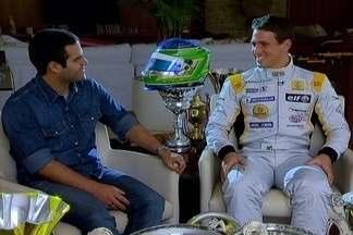 Globo Esporte DF: Piloto brasiliense na WSR - Depois de uma temporada na Fórmula 3 Inglesa, Lucas Foresti parte para a WSR e dá mais um passo na caminhada rumo a Fórmula 1.