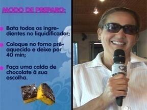 Claudia Jimenez dá receita de bolo de cenoura - Confira a receita que a atriz ensinou no quadro do Mais Você, Cozinhando com Famosos