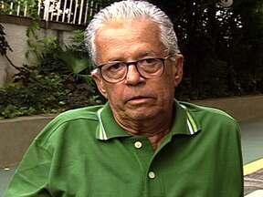 Vida de Ernani Ferreira em 15 segundos - Ernani era locutor oficial do Jockey Clube e durante anos foi a voz do Grande Prêmio Brasil.