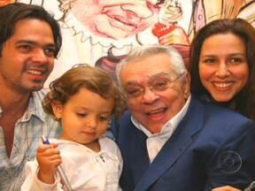 Chico Anysio morre, aos 80 anos, no Rio de Janeiro - Chico Anysio lutava contra um problema pulmonar crônico, por ter sido fumante a vida inteira. Ele morreu por falência múltipla dos órgãos causada por uma infecção com origem no pulmão.