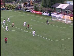 Atlético volta ao Ecoestádio, desta vez como visitante - Furacão mandou três jogos no estádio, e venceu todos por goleada