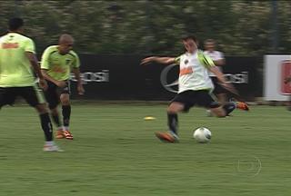 Atlético-MG se prepara para enfrentar o Góias, amanhã, pela Copa do Brasil - Galo já foi eliminado por time goiano em três edições da competição.