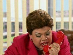 Dilma fica revoltada com participação de ex-ministro no Casseta - Presidenta decide tirar satisfação com Djalma Matta