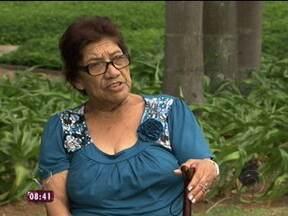Acidente no metrô: conheça a história da aposentada Jesuíta Alcântara dos Santos - Mais Você mostra a história da aposentada Jesuíta Alcântara dos Santos, que está processando uma empresa de metro