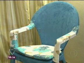 Jairo Sender dá dicas para fazer cadeiras de PVC - O Arquiteto Jairo Sender dá dicas parafazer cadeira de PVC, que foram usadas no quadro Dando um Retoque.