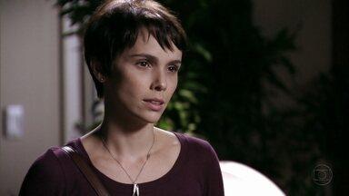 Nina afirma que Débora é a mulher certa para Jorginho - Ela pede perdão por ter atrapalhado o romance do casal e incentiva Débora a procurar o ex. A acrobata promete pensar no pedido de Nina