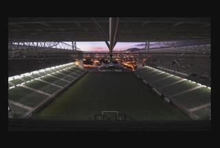 Vídeo mostra movimentação do Independência no dia da reabertura do estádio - Vídeo foi feito a partir de 3099 fotos, ao longo de todo o dia da reinauguração. Estádio, no próximo domingo, vai ser o palco da grande final do Campeonato Mineiro.