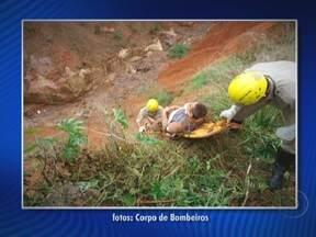 Jovem passa mais de 60 horas dentro de um buraco em Planaltina de Goiás - Durante esse tempo, Wiliam do Nascimento só pôde consumir água da chuva. Ele foi resgatado pelos bombeiros depois que um morador da região ouviu os pedidos de socorro. Ele quebrou um braço e já teve alta.