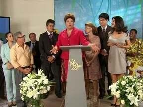 Dilma lança novo projeto de Governo - A presidenta anuncia com orgulho a criação da Secretaria das Minorias Majoritárias